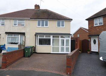 Thumbnail 3 bed semi-detached house for sale in Keys Crescent, West Bromwich, West Midlands
