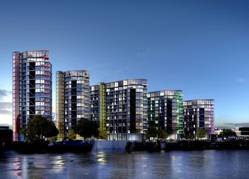 Thumbnail 2 bed flat to rent in Nine Elms Lane, London