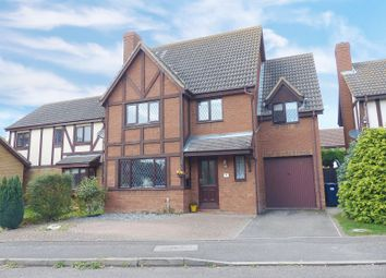 Thumbnail 4 bed detached house for sale in Cookson Close, Yaxley, Peterborough, Cambridgeshire.