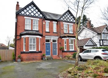 Thumbnail 5 bed semi-detached house for sale in Bramhall Lane South, Bramhall, Stockport