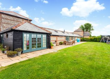 Thumbnail 3 bed barn conversion for sale in St Mary Bourne, Andover, Hampshire