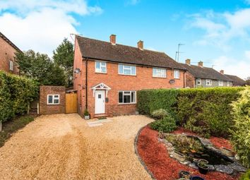 Thumbnail 3 bed semi-detached house for sale in Compton, Godalming, Surrey