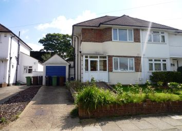 Thumbnail 3 bedroom semi-detached house for sale in Sterry Drive, Ewell, Epsom