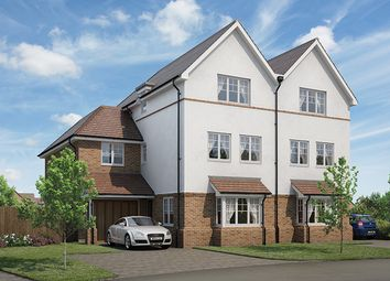 "Thumbnail 4 bed property for sale in ""The Browning"" at Renfields, Haywards Heath"