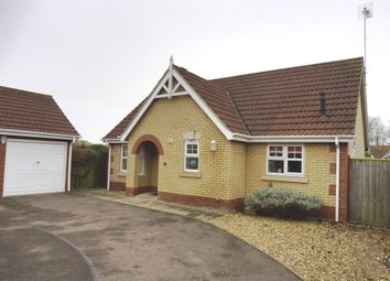 Thumbnail 2 bed detached bungalow for sale in Awdry Drive, Wisbech