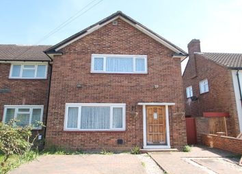 Thumbnail 2 bed semi-detached house to rent in Elizabethan Way, Stanwell, Staines