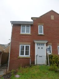 Thumbnail 3 bed mews house to rent in 6 Mountain Rise, Brecon View Parc, Heolgerrig, Merthyr Tydfil