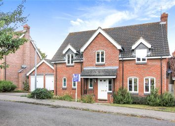 Thumbnail 4 bed detached house for sale in Whitlock Drive, Great Yeldham, Halstead