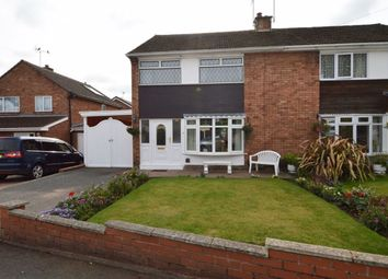 Thumbnail 3 bed semi-detached house for sale in Walnut Court, Brereton, Rugeley