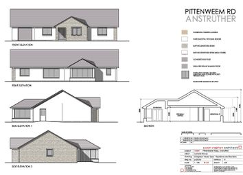 Thumbnail 4 bedroom detached bungalow for sale in Pittenweem Road, Anstruther