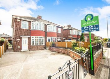 Thumbnail 3 bed semi-detached house for sale in Wheatley Hall Road, Doncaster