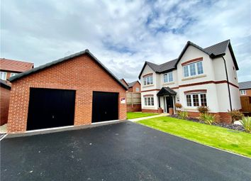 Thumbnail 4 bed detached house for sale in Damstead Park Avenue, Alfreton