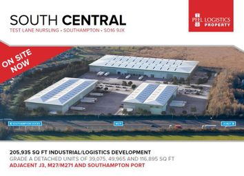Thumbnail Warehouse to let in South Central, Test Lane South, Nursling, Southampton, Hampshire