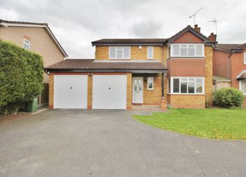 Thumbnail 4 bed detached house to rent in Hardwicke Road, Narborough, Leicester