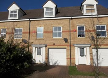 Thumbnail 3 bed town house to rent in Heron Drive, Gainsborough