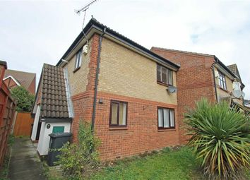 Thumbnail 1 bed terraced house for sale in Clover Avenue, Bedford