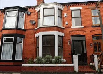 Thumbnail 3 bedroom terraced house to rent in Beckenham Avenue, Mossley Hill, Liverpool