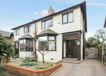 Thumbnail 3 bed semi-detached house for sale in Dunollie Road, Sale