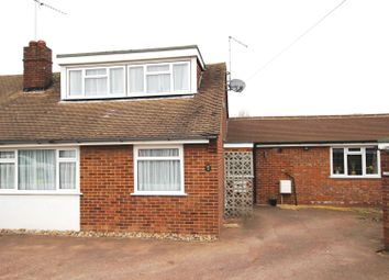 Thumbnail 4 bed semi-detached bungalow for sale in Chapterhouse Road, Luton