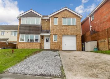 Thumbnail 4 bed detached house for sale in Pearson Way, Briton Ferry, Neath, Neath Port Talbot.