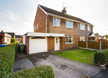 Thumbnail 3 bed semi-detached house to rent in Cordwell Close, Staveley, Chesterfield