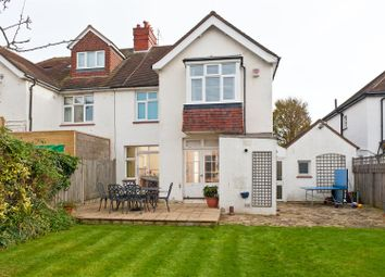 Thumbnail 4 bed semi-detached house for sale in Park Avenue, Hove