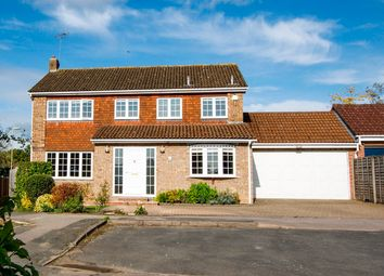 Thumbnail 5 bed detached house for sale in Whinchat Close, Hartley Wintney, Hook