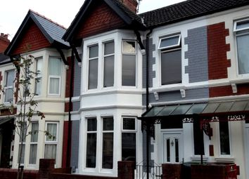 Thumbnail 3 bed terraced house for sale in Australia Road, Gabalfa, Cardiff