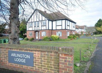 Thumbnail 1 bed flat to rent in Arlington Lodge Monument Hill, Weybridge, Surrey