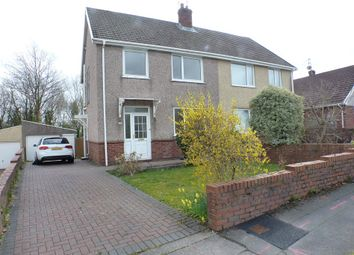 Thumbnail 3 bedroom semi-detached house to rent in Parklands View, Derwen Fawr