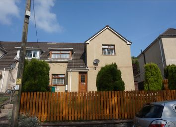 Thumbnail 3 bed semi-detached house for sale in Treneol, Aberdare