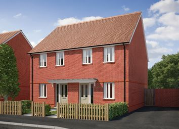 "Thumbnail 2 bed terraced house for sale in ""The Bowes"" at Saunders Way, Basingstoke"