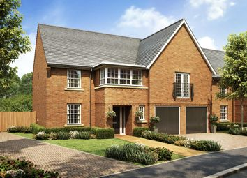 "Thumbnail 5 bedroom detached house for sale in ""Hatherley"" at Wookey Hole Road, Wells"
