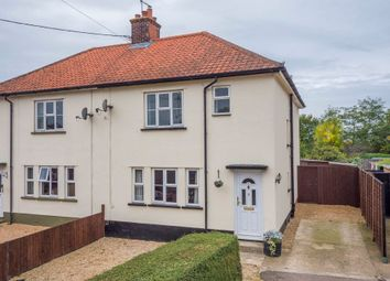 Thumbnail 3 bed semi-detached house for sale in Raydon, Ipswich, Suffolk