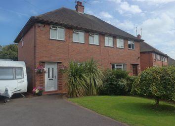 Thumbnail 3 bedroom semi-detached house for sale in Bridgwood Road, Blythe Bridge, Stoke-On-Trent
