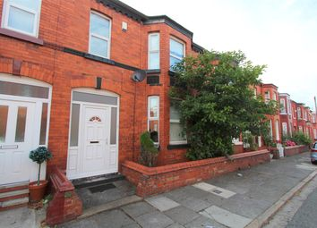 Thumbnail 4 bed terraced house for sale in Brereton Avenue, Wavertree, Liverpool