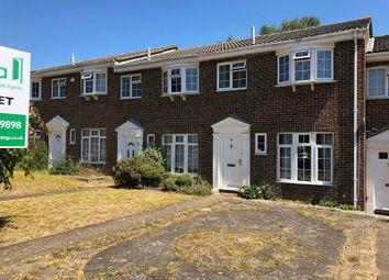 Thumbnail 3 bed terraced house to rent in Regency Drive, West Byfleet