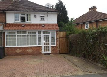 Thumbnail 3 bed semi-detached house for sale in Caldwell Road, Birmingham, West Midlands