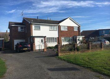Thumbnail 4 bed semi-detached house for sale in Horsham Road West, Littlehampton, West Sussex