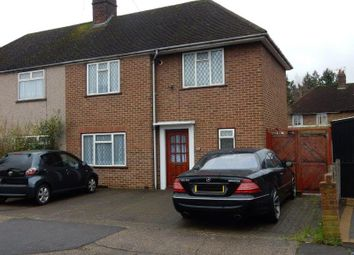 Thumbnail 3 bed semi-detached house to rent in Birchway, Hayes