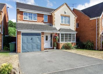Thumbnail 4 bed detached house for sale in Lilac Way, East Goscote, Leicester