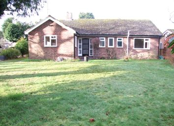 Thumbnail 3 bed detached bungalow for sale in Fairfield Drive, Saxmundham