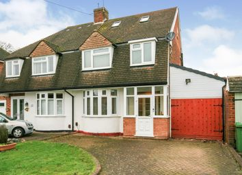 4 bed semi-detached house for sale in Rowden Drive, Solihull B91
