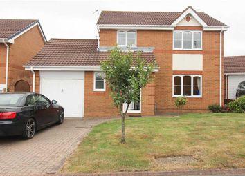 Thumbnail 3 bed detached house for sale in Castleton Close, Northburn Dale, Cramlington