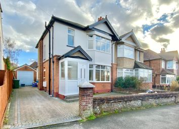 3 bed semi-detached house for sale in Wilton Crescent, Upper Shirley, Southampton SO15