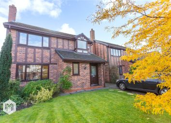 Thumbnail 4 bed detached house for sale in Ribchester Gardens, Culcheth, Warrington