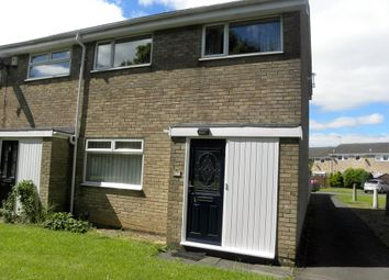 Thumbnail 3 bed end terrace house for sale in Brentwood Close, Holywell, Whitley Bay