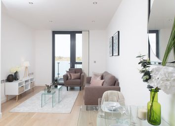 Thumbnail 1 bed flat to rent in 16 Quebec Way, London