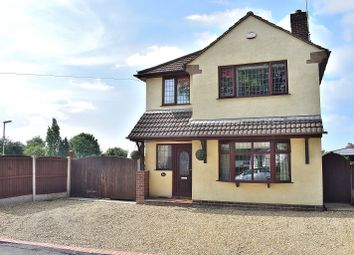 Thumbnail 3 bed detached house for sale in Lower Milehouse Lane, Milehouse, Newcastle.