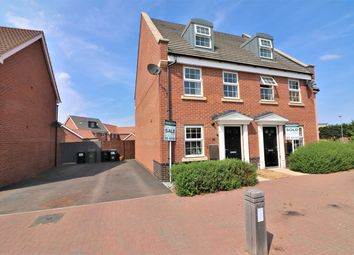 Thumbnail 3 bed end terrace house for sale in Hornbeam Drive, Dereham